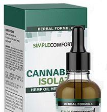 Simple Comfort Cannabinol Isolate