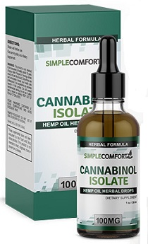 Simple Comfort Cannabinol Isolate
